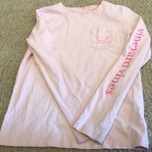 Other - Small  pink vineyard vines long sleeve T-shirt